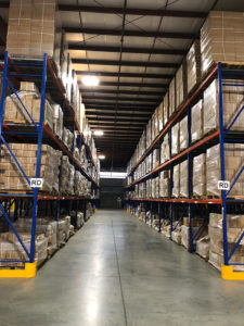 A look inside the World Distribution Services (WDS) Savannah Warehouse. We have brand new racking to store your valuable retail consumer goods.