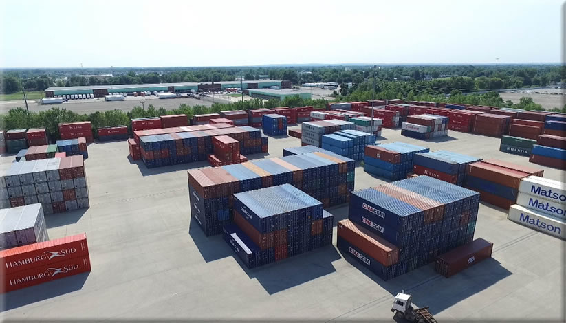 Columbus - Container Transload Facility | World Distribution