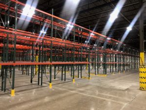 New Norfolk Warehouse High Bay Racking