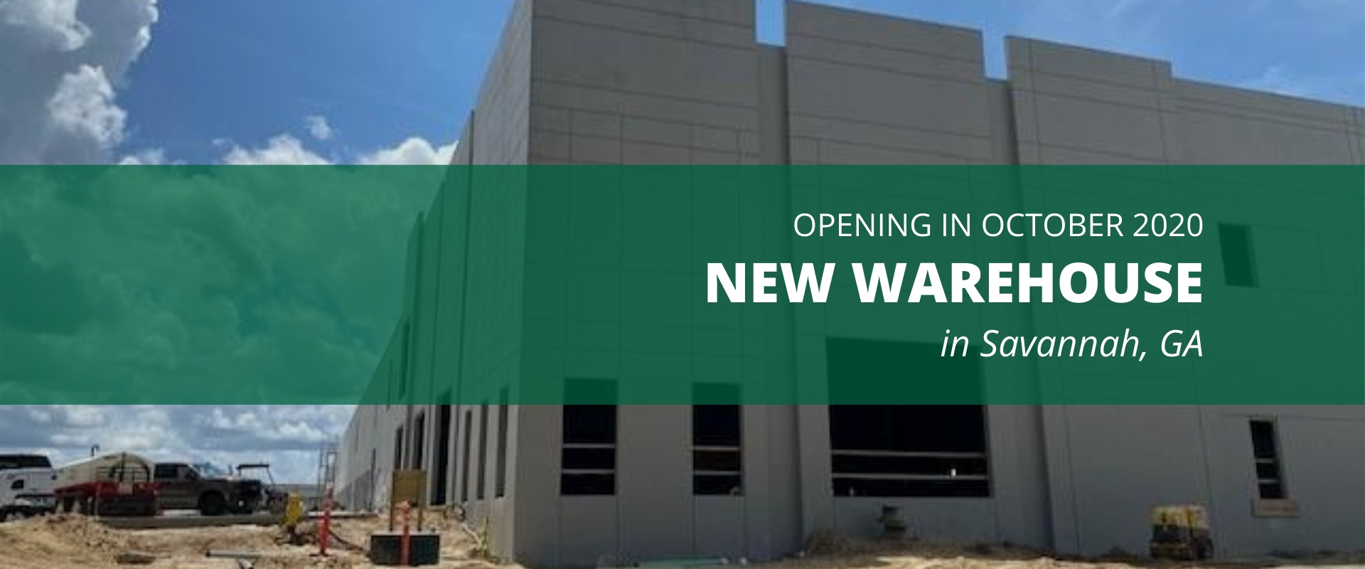New World Distribution Services Warehouse Coming to Savannah, GA