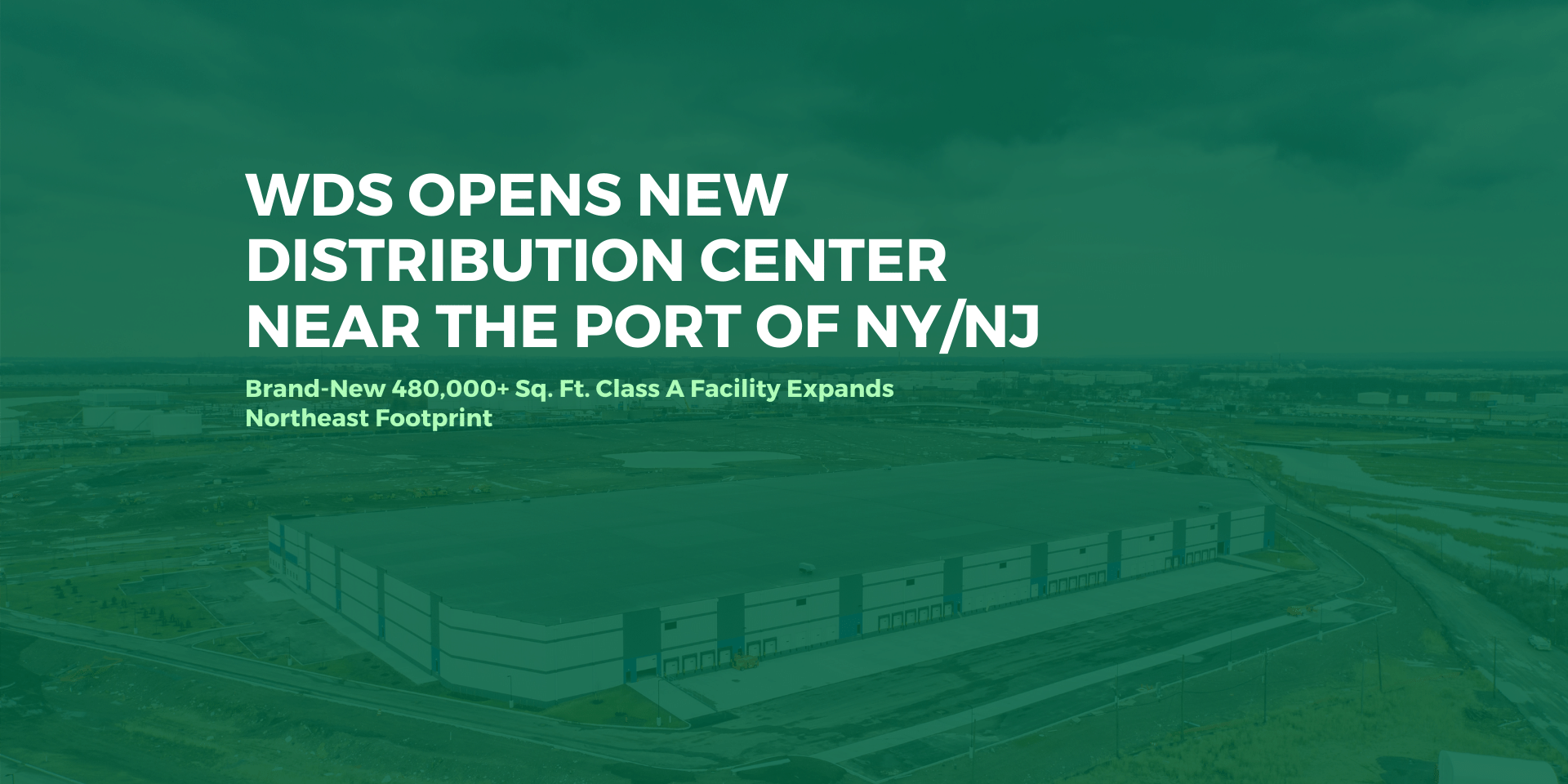 WDS New Port of New York New Jersey DC